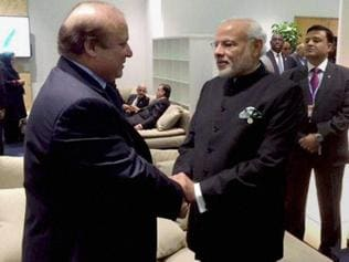 Modi showed 'huge tolerance' by shaking hands with Sharif: Sena