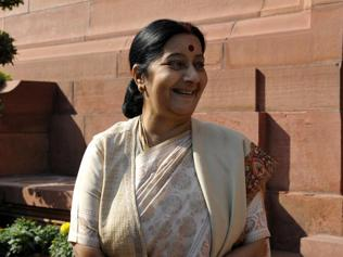 Sushma Swaraj to visit Israel and Palestine from January 15