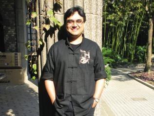 """Poetry is all around us,"" says poet Sudeep Sen"