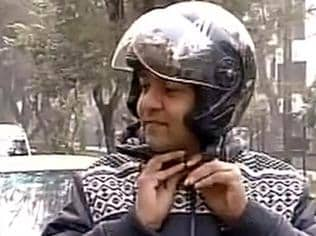 Odd-even rule | Delhi minister rides motorcycle to work