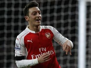 Assist leader Mesut Ozil key to Arsenal's Premier League bid
