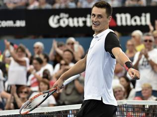 Tomic upsets Nishikori to set semis showdown vs Raonic in Brisbane