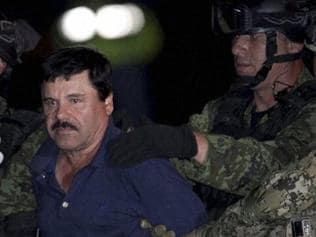 """Watch   The world's most-wanted drug lord, """"El Chapo"""" captured"""