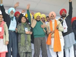 AAP weaves Maghi magic, eclipses SAD, Cong shows in Muktsar