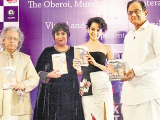 Barkha Dutt rejects retirement talk at book launch