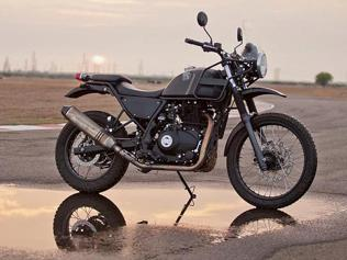 Royal Enfield unveils Himalayan, a 411cc all-terrain bike