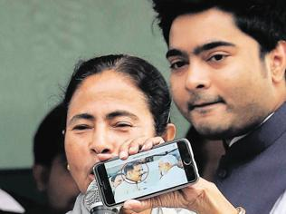Bengal: Mamata mulling fielding nephew Abhishek in Assembly elections