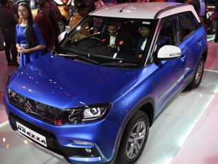 Watch | The Maruti Suzuki Vitara Brezza at the Delhi Auto Expo