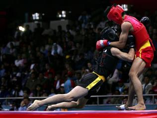 India's Wushu athletes go from real to reel
