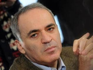 'Virtually impossible to beat a machine in this age': Garry Kasparov
