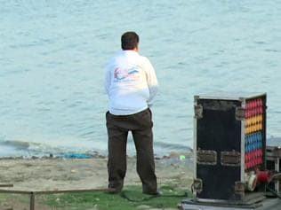 Clip of Allahabad ADM urinating into river goes viral