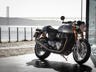 On this 'High Power' Thruxton, the R is for a bigger heart