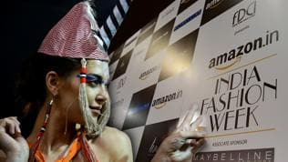 Watch   Behind the scenes at Amazon India Fashion Week