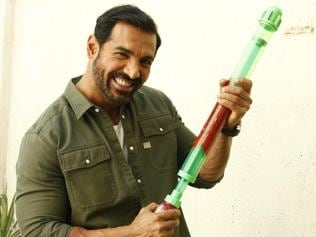 Play Holi with colours and not water, says John Abraham