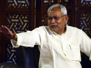 Not in race for PM but have credentials to be one: Nitish Kumar