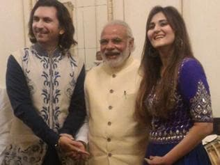 I played The Beatles on the santoor for the royal couple : Rahul Sharma
