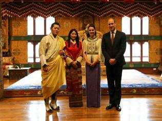 A royal encounter for a royal couple: Wil-Kate meet Bhutan rulers