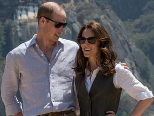 British royal couple hikes to mountain monastery in Bhutan