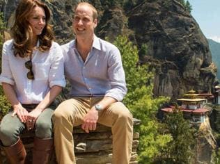 Watch   William and Kate describe Bhutan hike 'an amazing experience'