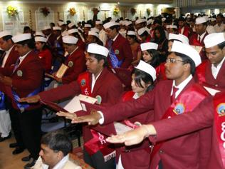 'Gandhi cap linked to politicians, robes characteristic of scholars'