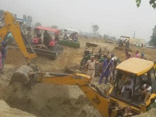 Labourer, farmer killed in cave-in at defunct well in Barnala village