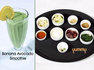 Yummy | Banana Avocado Smoothie