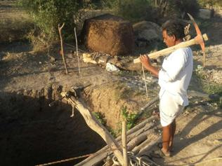 Madhya Pradesh farmer digs 90-feet-deep well in fight against drought