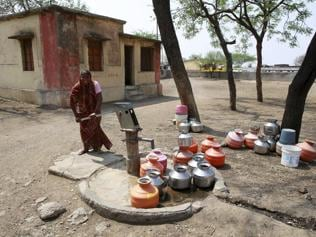 India, try living on a bucket of water a day
