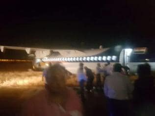 Jet Airways plane skids off runway in Indore, all passengers safe