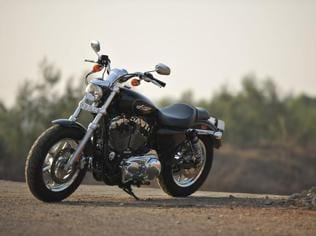 Harley 1200 Custom review: Handsome, but not the sportster to arrive on