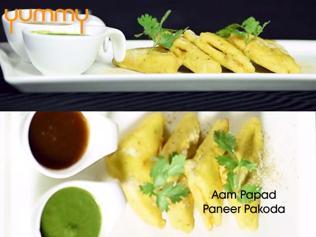 Yummy | Aam Papad Pakora
