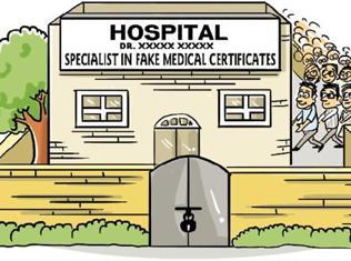 false medical certificates