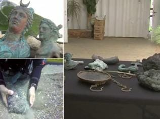 Watch | 1,600-year old Roman cargo found off Israel's coast
