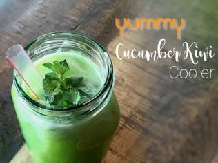 Yummy | Cucumber Kiwi Summer Cooler