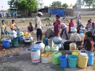 Residents of 22 parched districts in Raj save every drop of water