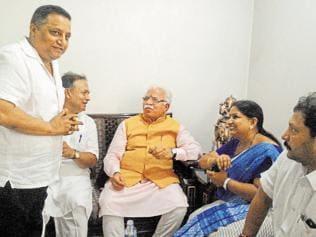 Industrial plot allotment: Haryana CM denies vendetta behind CBI raids