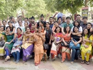 Amritsar schools celebrate CBSE Class-10 results