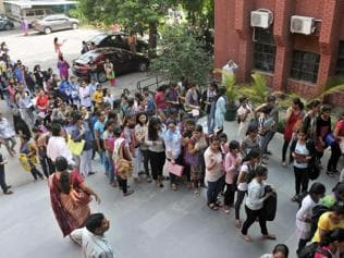 Stamp of success? High class 12 marks no guarantee for college berth