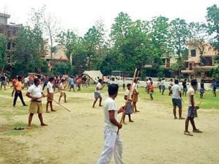 Bajrang Dal self-defence camp