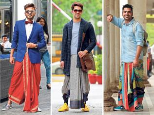 Fun, funky and glam: And you thought dhoti ain't cool enough?