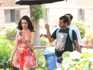 Shoot at sight: Shraddha's rain dance in Delhi University