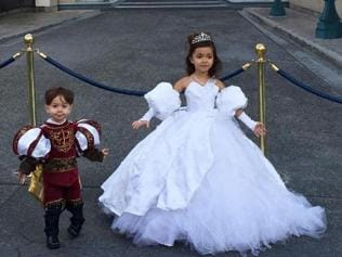 This dad makes Disney costumes for his kids and they are out-of-this-world