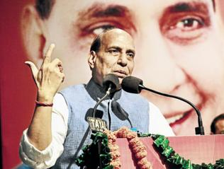Need to create jobs in Uttarakhand to stop forced migration: Rajnath