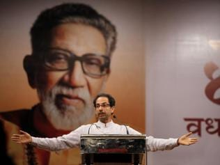 In Maharashtra, the fight is between the Congress and the Shiv Sena