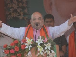 BJP, Cong in war of words ahead of Shah's Haridwar rally