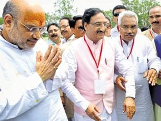 Shah targets Rawat, sounds bugle for 2017 Uttarakhand polls