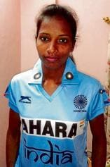 Tribal girl first from state to make cut for Olympics hockey team