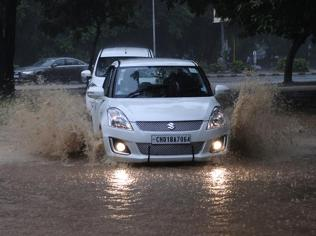 First major rain brings Chandigarh to a grinding halt
