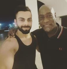 In Antigua, Kohli and team have a 'memorable evening' with Sir Viv