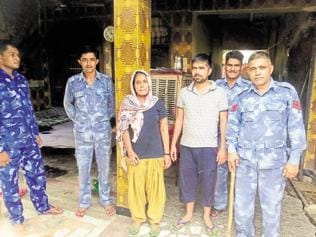 Too much protection: Police security becomes a headache for slain Dalit kids' parents